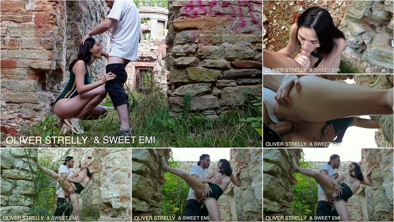 Sweet Emi - Public Hard Sex. Creampie Teen Pussy in Castles Ruins and Tourist Place. [FullHD 1080P]