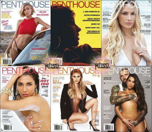 Penthouse USA - Full Year 2019 Issues Collection Cover