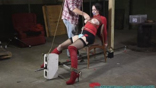 Angelique Kithos is Prepared for Transport - BDSM, Bondage, Bound