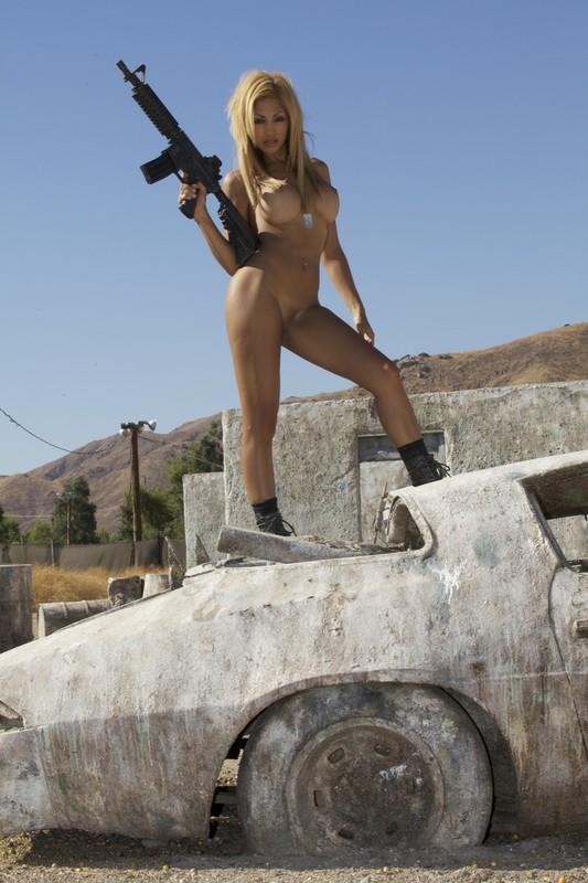 Gun girl sexfakes, star wars shabby blue oola
