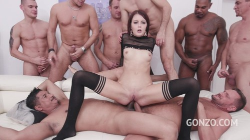 LegalPorno 2019 Cindy Shine Assfucked By 1 2 3 4 Guys and Then Gangbanged By All 10 Of Them 720p XXX MP4-CLiP