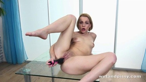"Rebeca Taking A Golden Shower in ""Wet And Pissy"" [SD]"