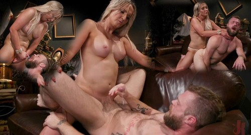 Time To Play Kayleigh Coxx Brings Mike Panic To Life For Kinky Fun [SD]