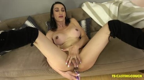 TS-Castingcouch - Meet Gorgeous Bambi Bootylicious 30 November 2019 - Trans, Shemale Porn Video