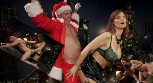 Syren De Mer - Santa Gets Got Milf Syren De Mer Catches Dale Savage In Her Dungeon [SD/540p]