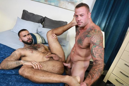 Rainy Afternoon Romp - Sean Duran, Rikk York (Bareback)