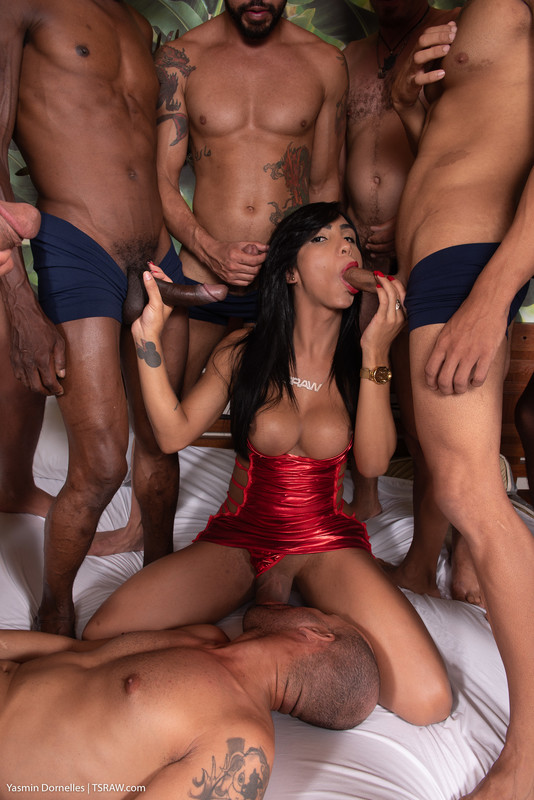 Yasmin Dornelles vs 12 Hung Men (2 January 2020)
