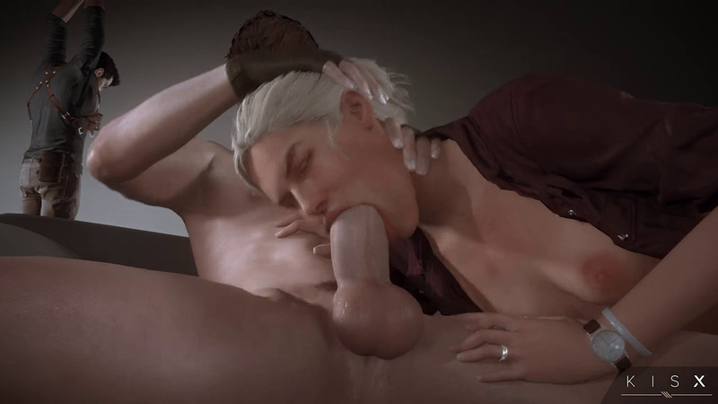 Blowjob, Elena Fisher, kisxsfm (artist), Sound, Uncharted, White Hair