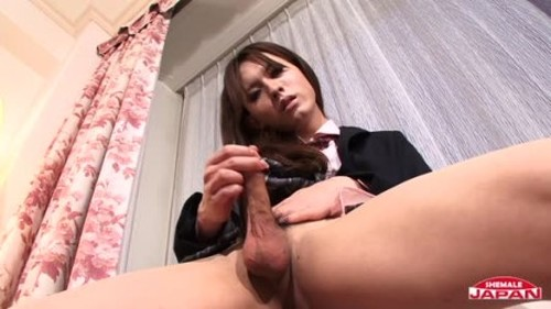 Naughty Lisa In School Uniform - Trans, Shemale Porn Video