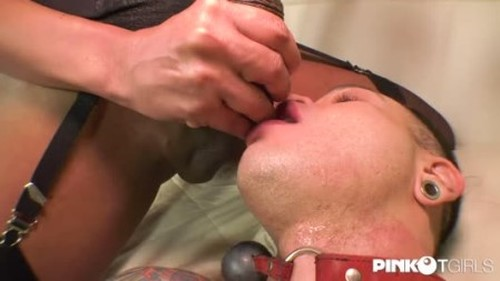 Waleska Sargentelly - Cums In Her SlaveS Ass - Trans, Shemale Porn Video