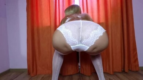 Scatdesire - Pooping in my Panties - Solo Scat Fetish, Defecation, Shiting Girl, Dirty Ass