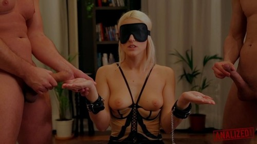 Blanche Bradberry - Gets Blindfolded And Double Penetrated