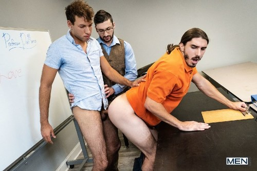 MEN - A Lesson In Love: Tim Hanes, Scott DeMarco, Damien Kyle Bareback