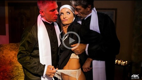 """Silvia Saige in """"Ministry Of Evil Sc. 1 Anal Threesome"""" [HD]"""