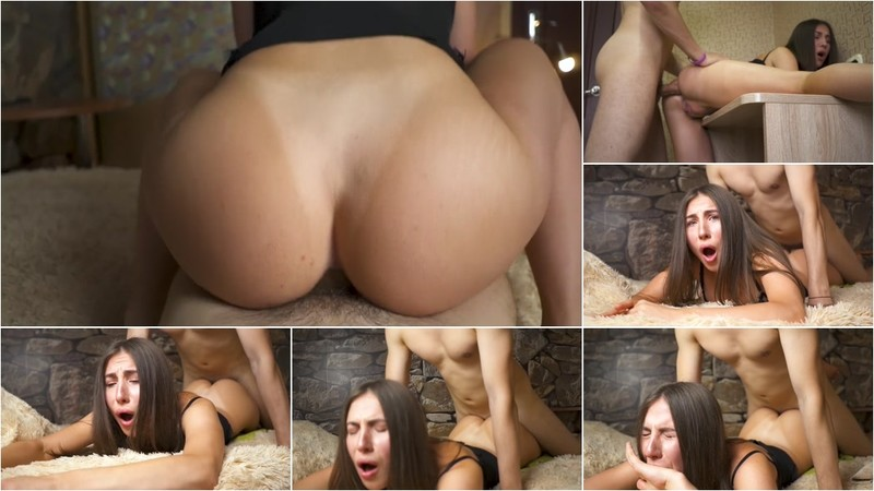 DickForLily - Gf Gave In The Ass Twice - Double Anal Creampie [FullHD 1080P]