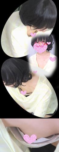 【胸チラ】とあるベビマ教室の様子{vol.05}オーラの違う気品溢れる美女ママさんのプックリ母乳おっぱい!