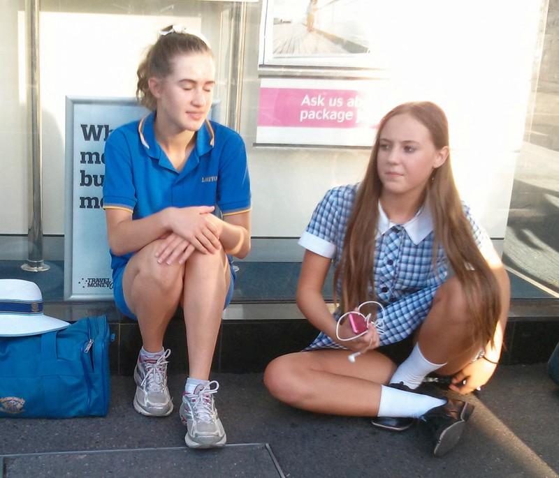 Cute Schoolgirl Candid Pics Taken On Her Morning Commute Voyeur Hub