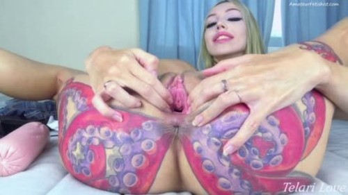 Large Sausage Pussy Stretching Challenge Telari Love - New Extreme Fisting Video, Bizarre