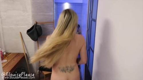 ElouisePlease Desperation Shower Pee - Extreme Pissing Video