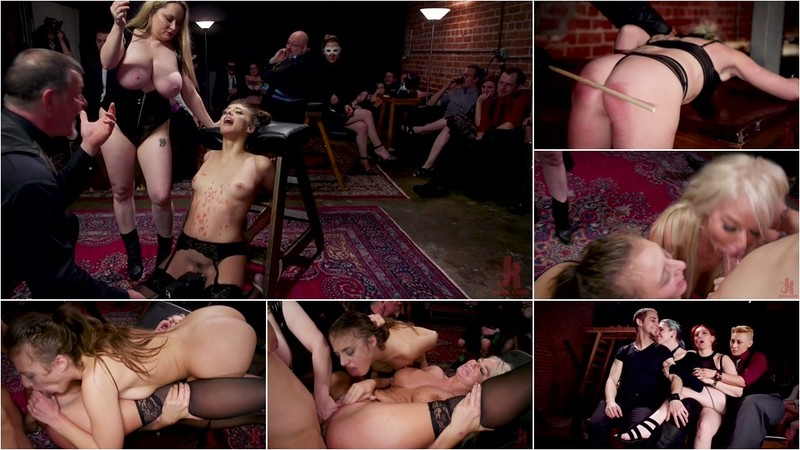 Aiden Starr London River And Gia Derza - Big-Titted Anal Slave Rewarded & Fisted For Training Teen Submissive [HD 720P]