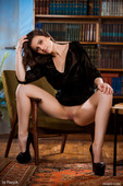 Melina F in Library Secrets (02-10-2020)