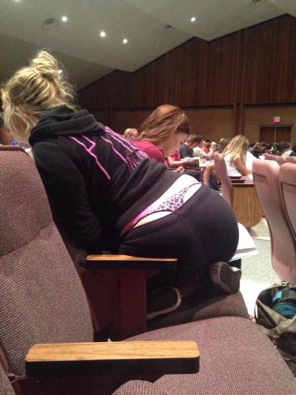 college girls in thongs