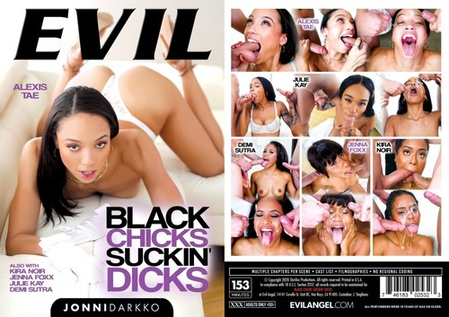 EvilAngel Black Chicks Suckin Dicks XXX 720p MP4-KTR