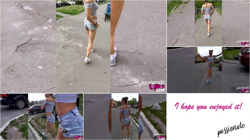 PassionateLollipop - Amateur Walks down the Outdoor and Dances [FullHD 1080P]