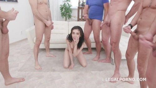 7On1 Dap Gangbang With Emily Pink, Balls Deep Anal, Dap, Tp, Gapes And Swallow Gio1313 [SD]