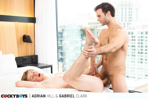 CockyBoys - Gabriel Clark, Adrian Hill Bareback