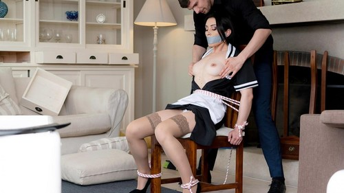 Valentina Bianco - French Maid Milf Fucker [SD/480p]
