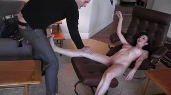 Turned into a sex doll stepmom fucks herself with a vibrator