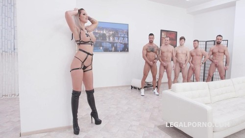 Jolee Love, Mr Anderson, Thomas Lee, Angelo Godshack, Michael Fly, Larry Steel - Monster Of Tap Jolee Love Balls Deep Anal, Dap, Tap, Gapes And Swallow Gio1355