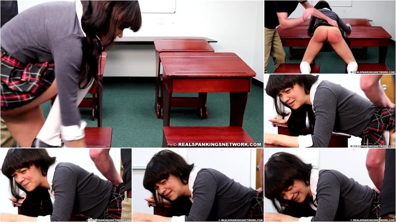 Kiki Cali - Disciplined By The Dean In The Classroom [FullHD 1080p]
