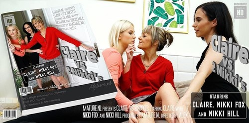 Claire - This Is One Hot Old And Young Lesbian Threesome