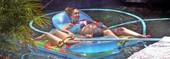Jessica Alba Pregnant Bikini Pics!