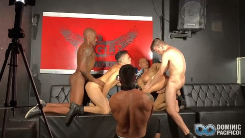 DominicPacifico - Behind the Scenes at Sao Paulo Eagle Bareback