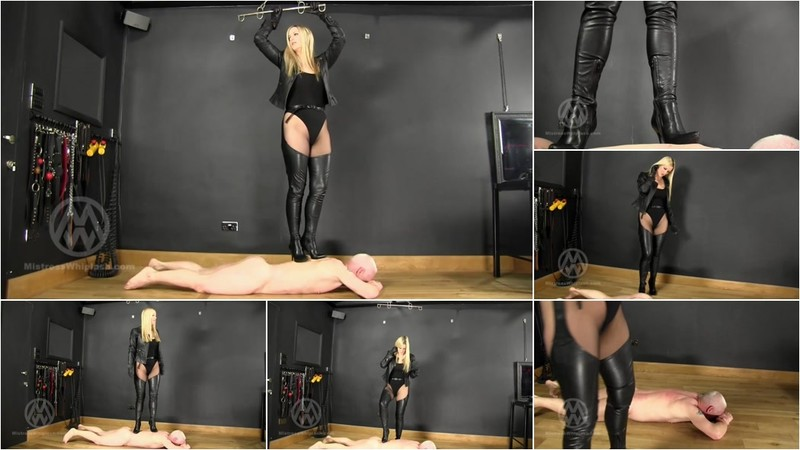 Wl1441 : Trampled By My Sharp Leather Chaps Boots [FullHD 1080P]