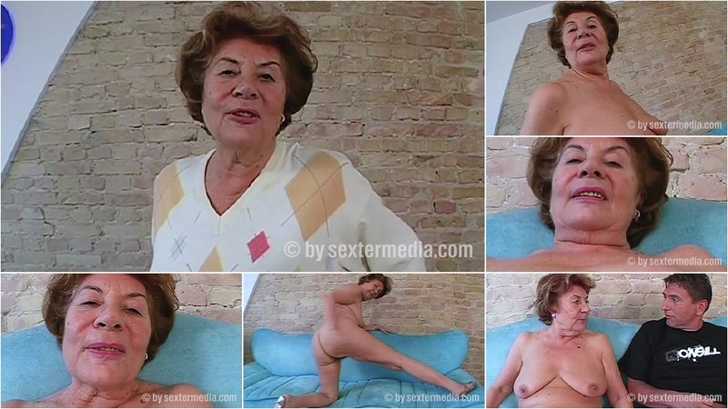 Old Granny Vera wants to swallow sperm [FullHD 1080P]