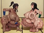 Rampage - Korra's Sparring Session (The Legend of Korra futanari comic)