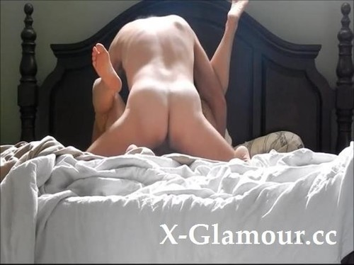 My Hubby Fucks Me Really Good On Our Bed [SD]