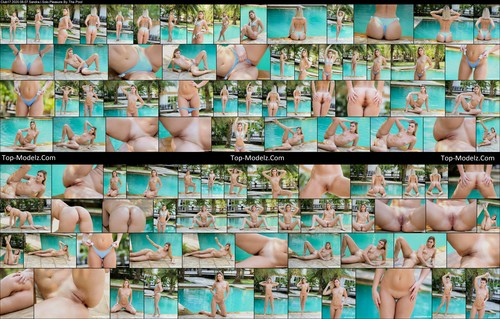 [ClubSeventeen] Sandra I - Solo Pleasure By The Pool clubseventeen 08120