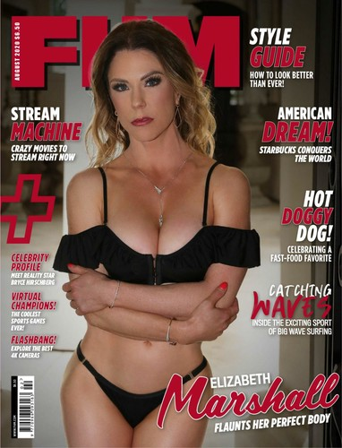FHM USA -August 2020 Cover