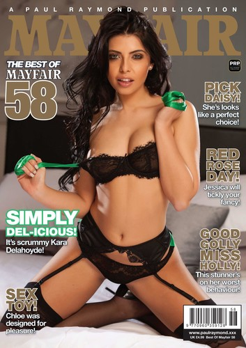 Best Of Mayfair -Issue 58 Cover