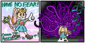 Fourball-Cream the Magical Girl Saves the Day?