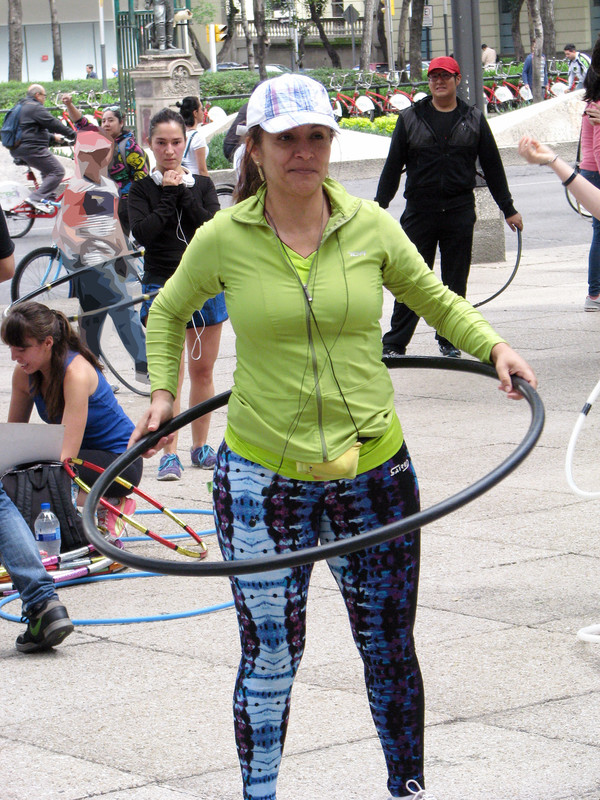 hula hoop milf in sexy yogapants
