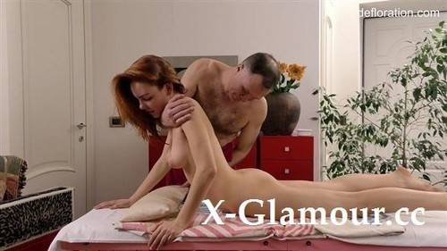 Amy Ledenez - Virgin Massage [SD/480p]