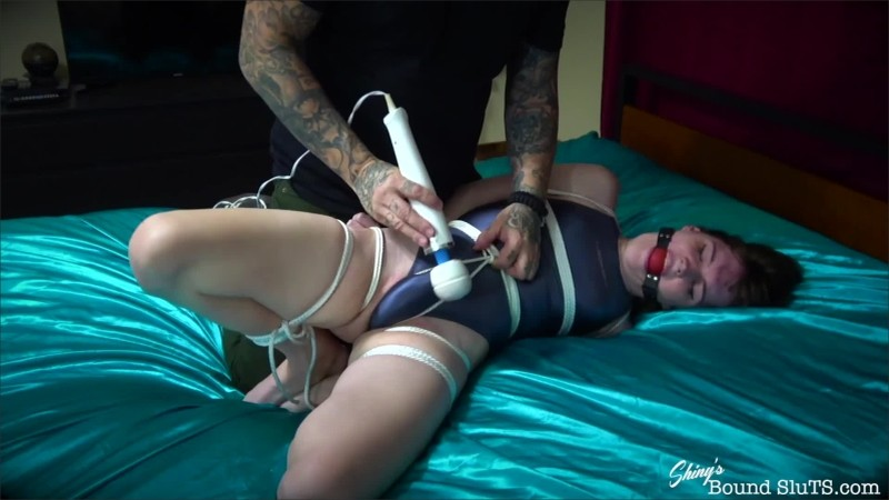 [ShinysBoundSluTS] Claire Tenebrarum - Swimsuit Bound Orgasms
