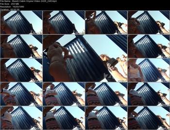 Beach Cabin-Voyeur Video 2405 248