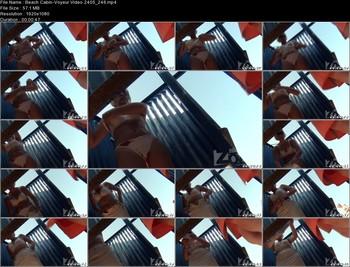 Beach Cabin-Voyeur Video 2405 246